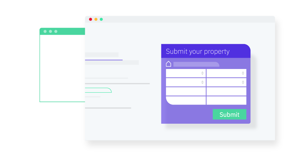 Submit your property online